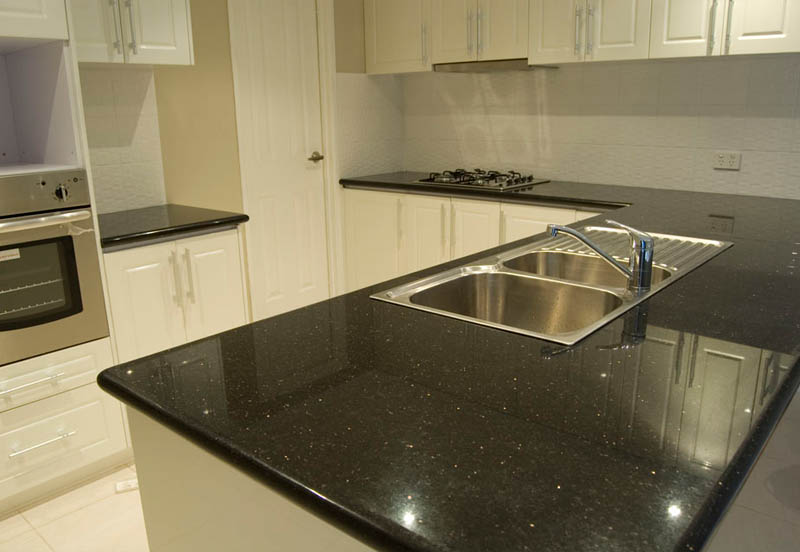 White Kitchen Black Benchtop welcome to kitchen at quality - wholesaler of granite benchtops in